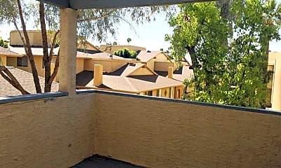 Patio / Deck, Monterey Apartments, 2