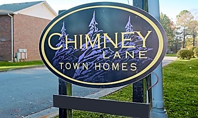 Community Signage, Chimney Lane Apartments, 2