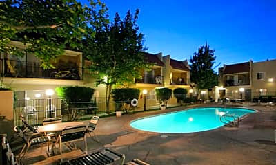 Pool, Parkwood Apartments, 1