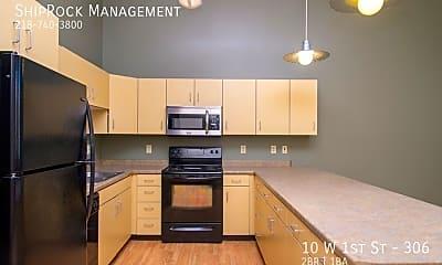 Kitchen, 10 W 1St St - 306, 2
