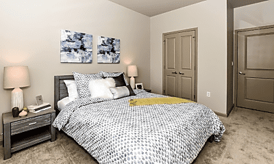 Bedroom, Residences at Streets of St. Charles, 2