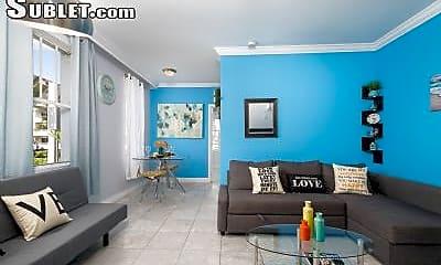 Living Room, 1619 Lenox Ave, 0