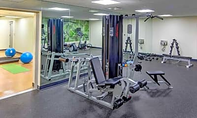 Fitness Weight Room, 22 Caton, 2