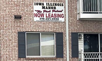 Iowa Illinois Manor, 1
