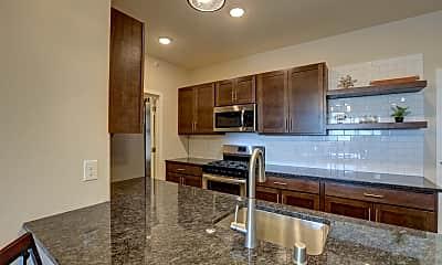 Kitchen, Mountain Lane Apartments, 1