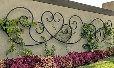 Community Signage, Chapman Village West, 2