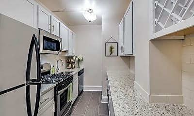 Kitchen, Cathedral Mansions, 0