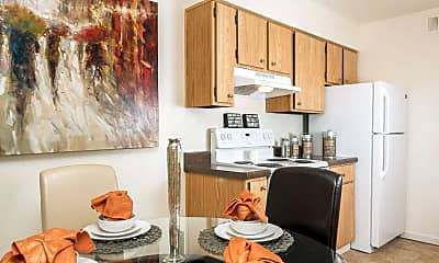 Kitchen, Juniper Canyon Apartments, 2