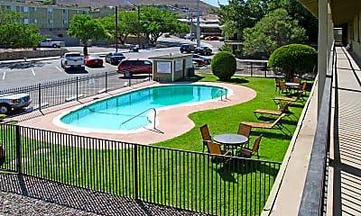 Pool, Paso Oeste Apartments, 1
