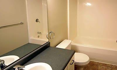 Bathroom, The Historic Central High, 2