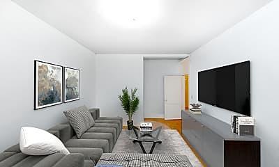 Living Room, 24 Westland Avenue, Unit 15, 0