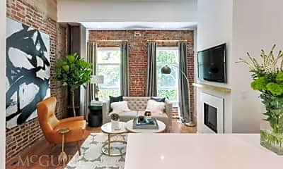 Living Room, 25 Hotaling Pl, 1