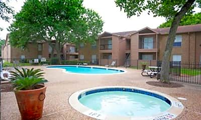 Pool, Crescentwood Apartments, 0