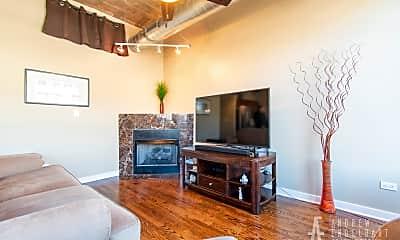 Living Room, 1001 W 15th St 235, 1