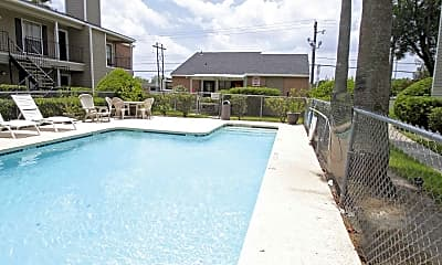 Pool, Yardarm Apartment Homes, 1