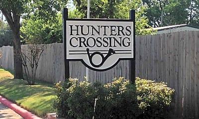 Community Signage, Hunters Crossing, 1