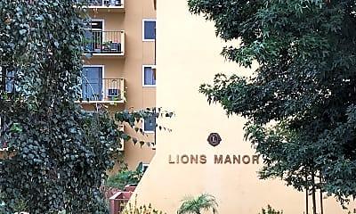 Lions Manor Seniors Residence, 1