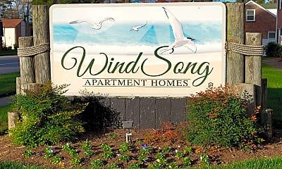 Community Signage, Windsong Apartments, 2