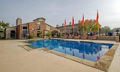 Pool, Brookside Apartments, 1