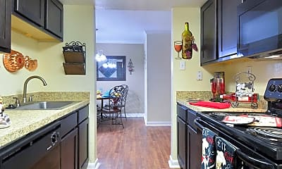 Kitchen, Spring Oaks, 1