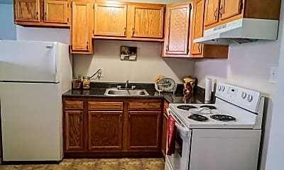 Kitchen, Riverside Apartments, 0