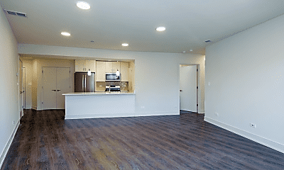 Living Room, 1212 Vine Ave, 1