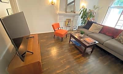 Living Room, 8317 Blackburn Ave., 1