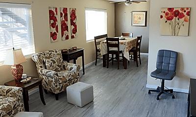 Living Room, 718 N Floral St, 0