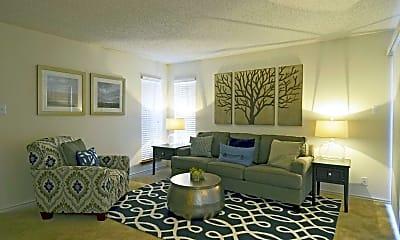 Living Room, 4000 Horizon Hill Apartments, 0