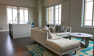 Living Room, 180 Kellogg Blvd 1501, 1