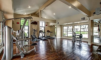 Fitness Weight Room, Estancia Apartment, 1