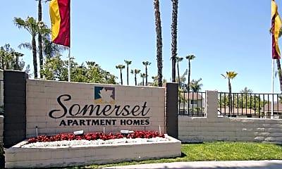 Community Signage, Somerset Apartments, 2