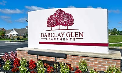 Community Signage, Barclay Glen North, 2