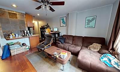 Living Room, 1843 Cedar St, 1