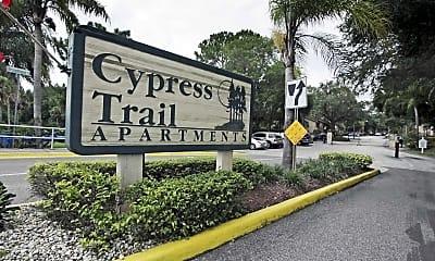 Community Signage, Cypress Trail, 2