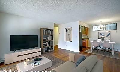 Living Room, 3500 Pennsylvania Ave, 1