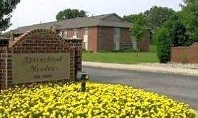 Community Signage, Springbrook Meadows, 2