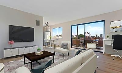 Living Room, 4711 Beverly Blvd, 1
