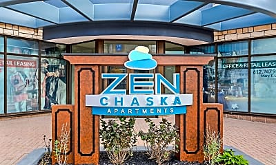 Community Signage, Zen Chaska, 1