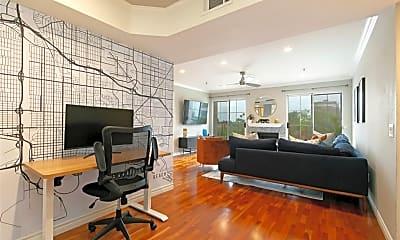 Living Room, 801 Pine Ave 402, 0