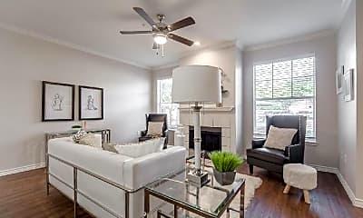 Living Room, 2201 Rockbrook Dr, 1