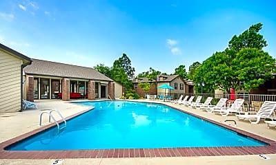 Pool, Woodrun Village, 1