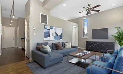 Living Room, 1226 N Greenview Ave, 2