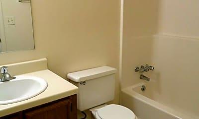 Bathroom, College Square Duplexes, 2
