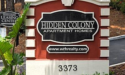 Community Signage, Hidden Colony Apartments, 2