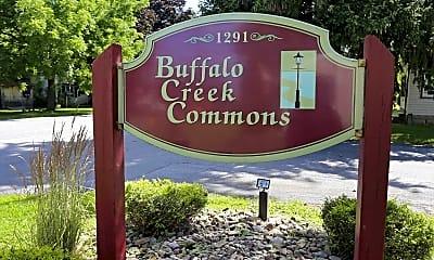 Community Signage, Buffalo Creek Commons, 0