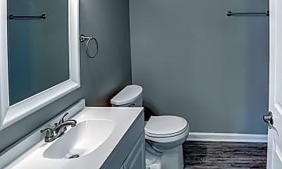 Bathroom, Austin Park and Clay Villa Apartments, 2