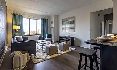 Living Room, Regis Houze Apartments, 0