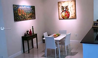 Dining Room, 1871 NW S River Dr 409, 0