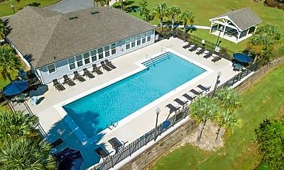 Pool, Woodside Apartment Homes, 1